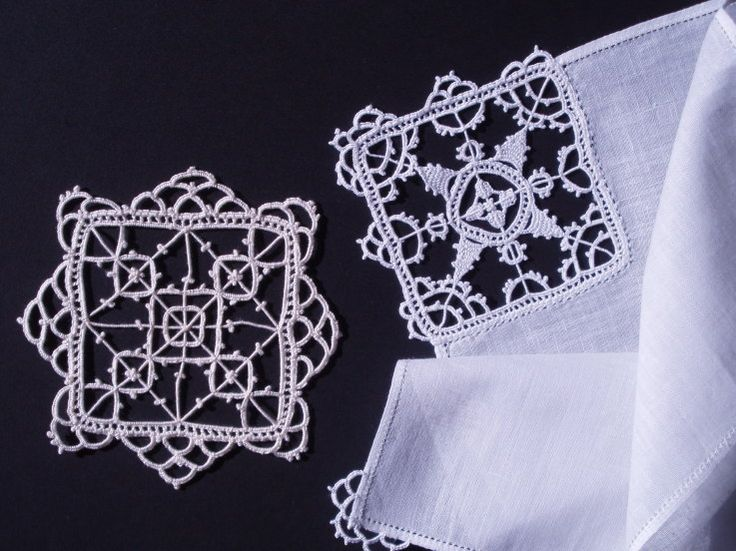 Aemilia Ars (23) ~ Reticello style needle lace ~ added by Margaret Stephens