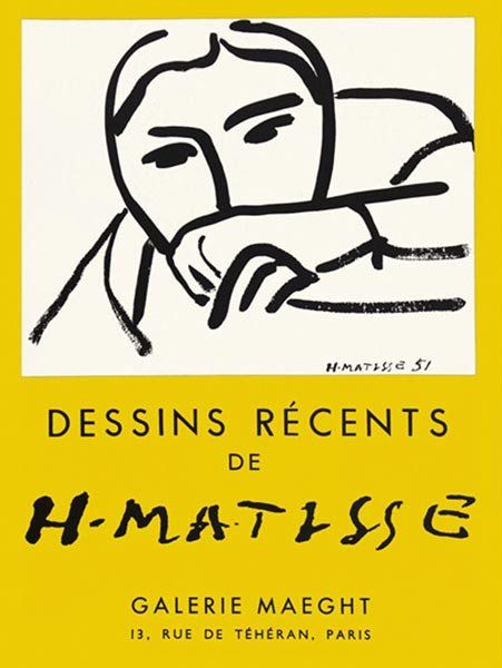 Matisse - Dessins Recents