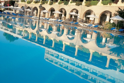 Rhodos Royal, exotic pool