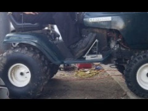 Pro Grade Gas Pedal for Mud Mower - YouTube