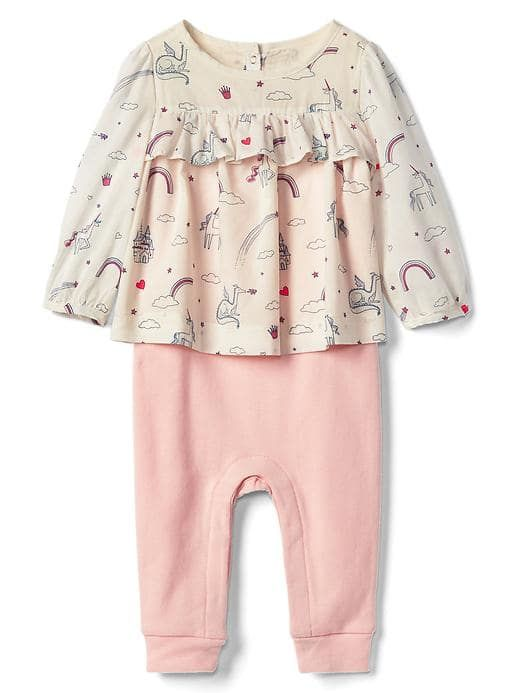 Fairy tale double-layer one-piece