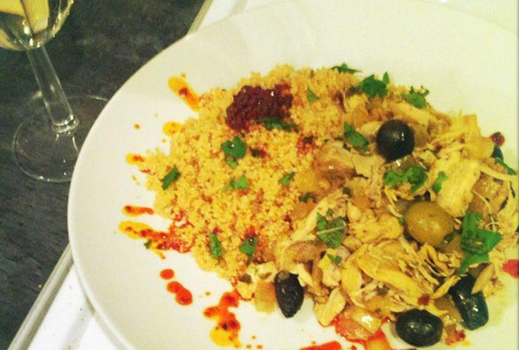 Sunday  Slow Cooker Chicken Tagine with Preserved Lemons and Olives - Belazu