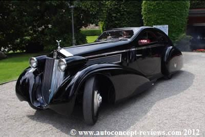 "Rolls Royce Phantom I 1925 Converted into Rolls Royce ""Rond Door-RR"" in 1935"