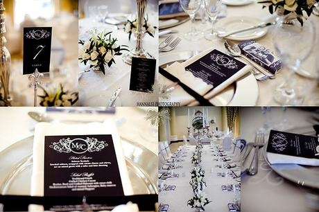 Elegant black and white designs - Canvas Stationery Boutique