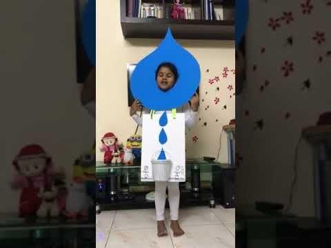 90e5fe3ed Save water speech by kid Lathika - YouTube