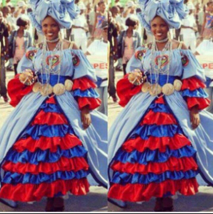Barbados Flag Dress
