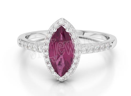 Diamond Ruby Ring by sk_jewels