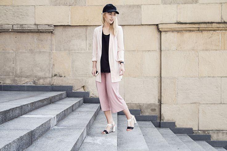 LOOK: Culottes stylizacja na co dzień oraz kolory Pantone 2016 + VIDEO LOOKBOOK!   Milena Bekalarska