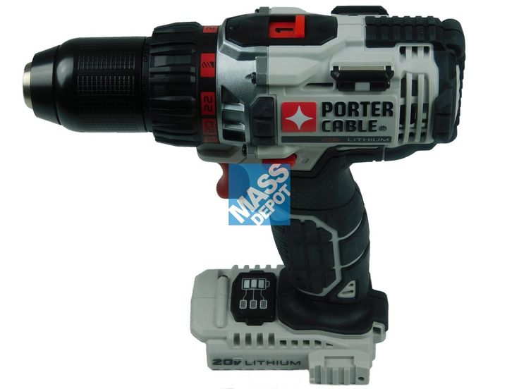 "NEW Porter cable PCC600 20v 1/2"" 2-Speed Lithium Ion Drill Driver (Bare  Tool)    Click the Image to see more #MassDepot #Tools"
