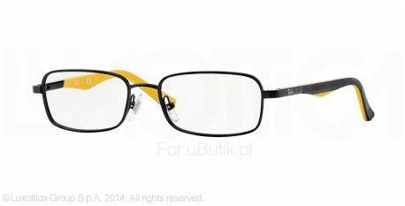 Dziecięce okulary o metalowej oprawce Ray-Ban RY1035 47 4005. Jest to model bardzo młodzieżowy, nadający się do szkoły jak i wyjścia na miasto. Kolorystyka bardzo przyjemna powinna spodobać się każdemu dziecku.