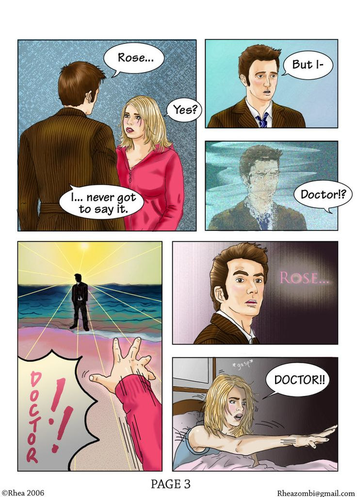 Doctor Who Comic - page 3 of 5 by ~Rhea-Batz on deviantART