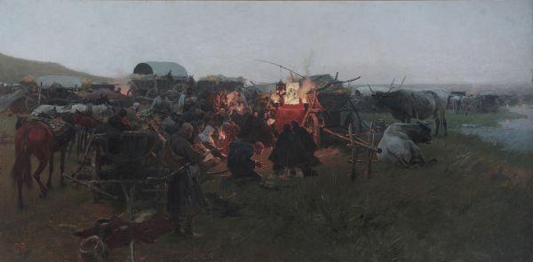 Matka Boska Poczajowska - Józef Brandt