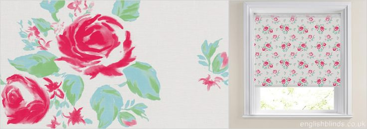 Kalina Blossom Contemporary Roller Blind