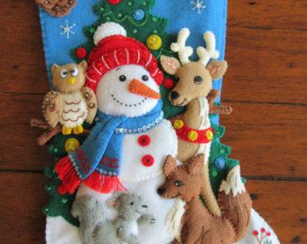 Bucilla Santa and Rudolph Completed by MissingSockStitchery