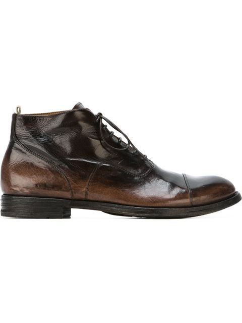 Shop Officine Creative lace-up boots.