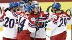 Dec.28 2015 - Dominik Lakatos and David Pastrnak scored as the Czech Republic defeated Slovakia 2-0 on Monday at the world junior hockey championship. Vitek Vanecek made 18 saves for the shutout.