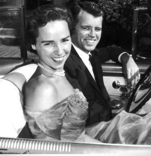 Bobbi & Ethel Kennedy ~