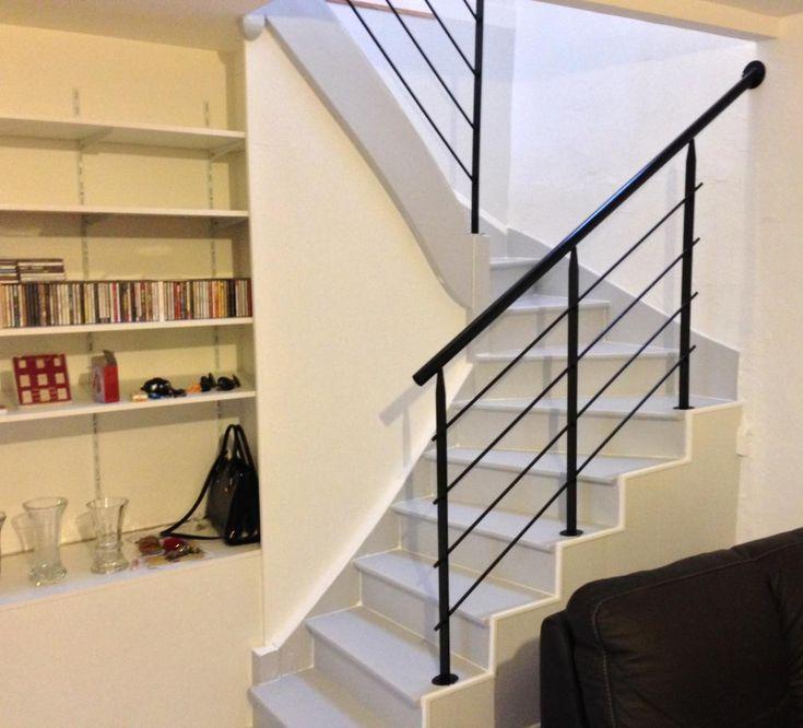 1000 id es sur le th me rampes d 39 escalier peintes sur. Black Bedroom Furniture Sets. Home Design Ideas