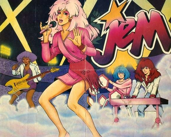 "21. Bonus!!!! Just a little ""Jem"" that made me smile and wanna sing along to all of her classics!!!! ""No one else is the same, Jem is my name! JEM!"" I just had to add this because I love/loved it!!!"