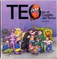 Teo pasa una divertida tarde en el castillo del terror de un parque de atracciones, entre fantasmas, brujas, dragones, monstruos...