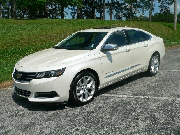 Chevy Impala 2014 White