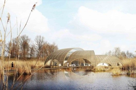 Living Landscape: The Great Fen Visiting Center Proposal / Atelier CMJN from Arch Daily