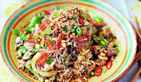 Singapore Noodles from Jamie Oliver's new cookbook 'Save With Jamie'