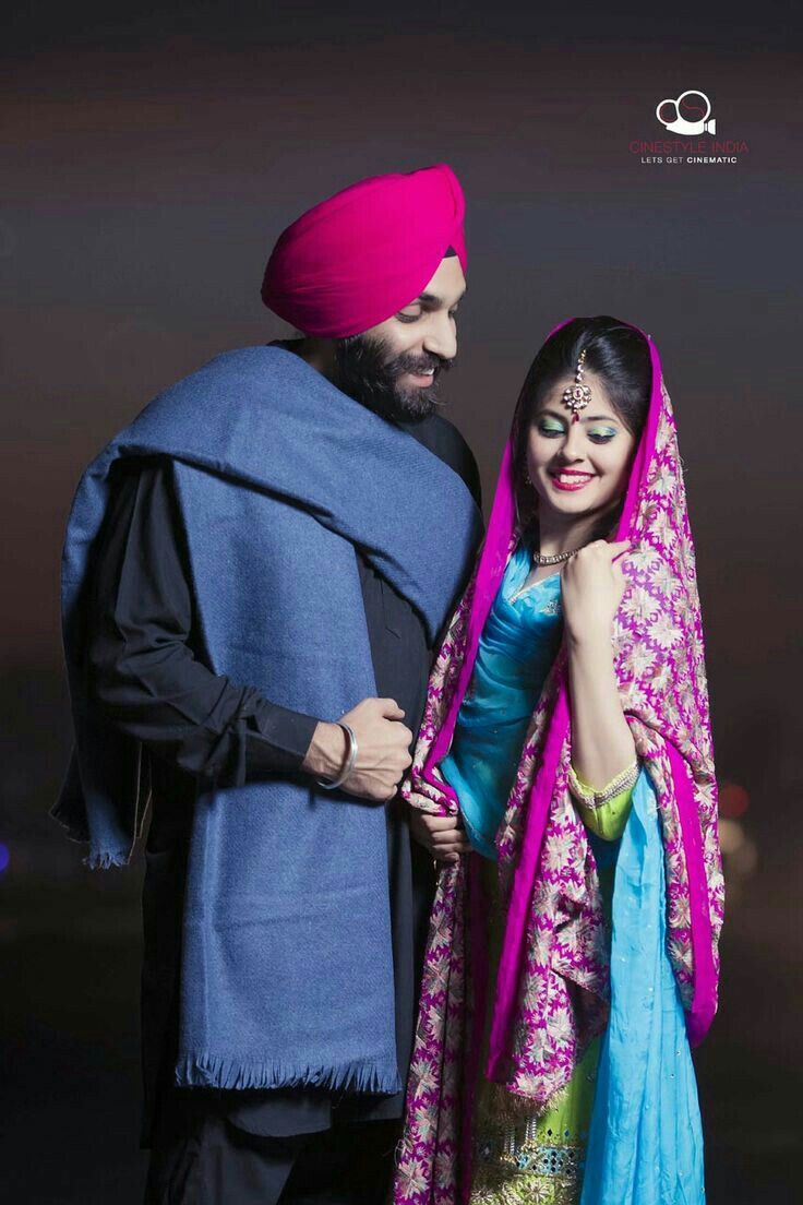 Pin by Poojakaur👑 on Couples in 2019 | Punjabi wedding couple, Pre