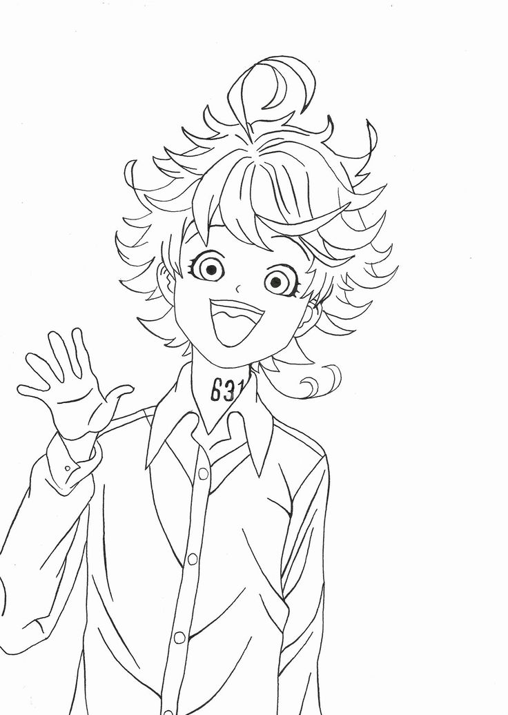 The Promised Neverland Anime Coloring Pages Printable Ideas Of 279 Mejores Imagenes De Colorings Pages Dbz Drawings Coloring Pages Anime Drawings