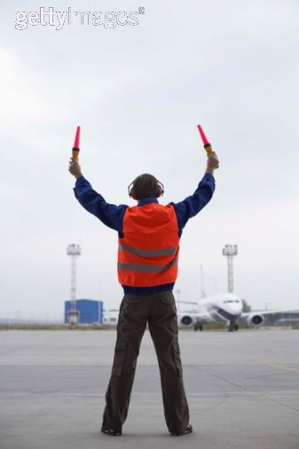 ground crew airport | ...