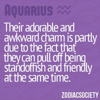 aquarius quotes  | Found on zodiacsociety.tumblr.com