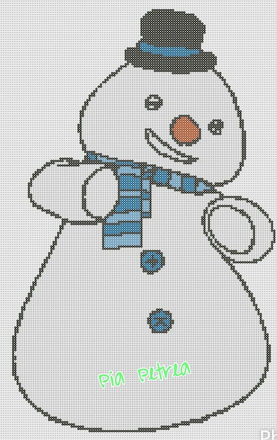 Chilly - Disney Doc McStuffins perler pattern by Pia Petrea