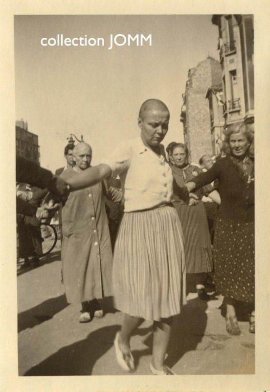 woman heads shaved in the holocaust