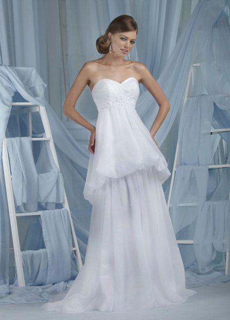 84 best beach wedding dresses images on pinterest short for Destination plus size wedding dresses