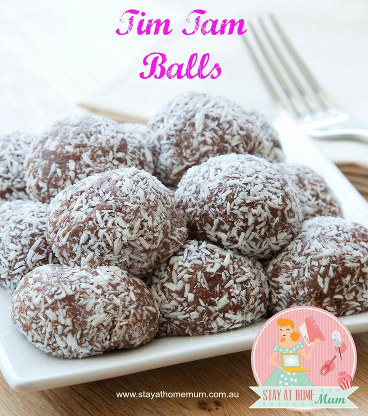 Tim Tam Balls | Stay at Home Mum