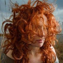 Natuurlijk rood haar