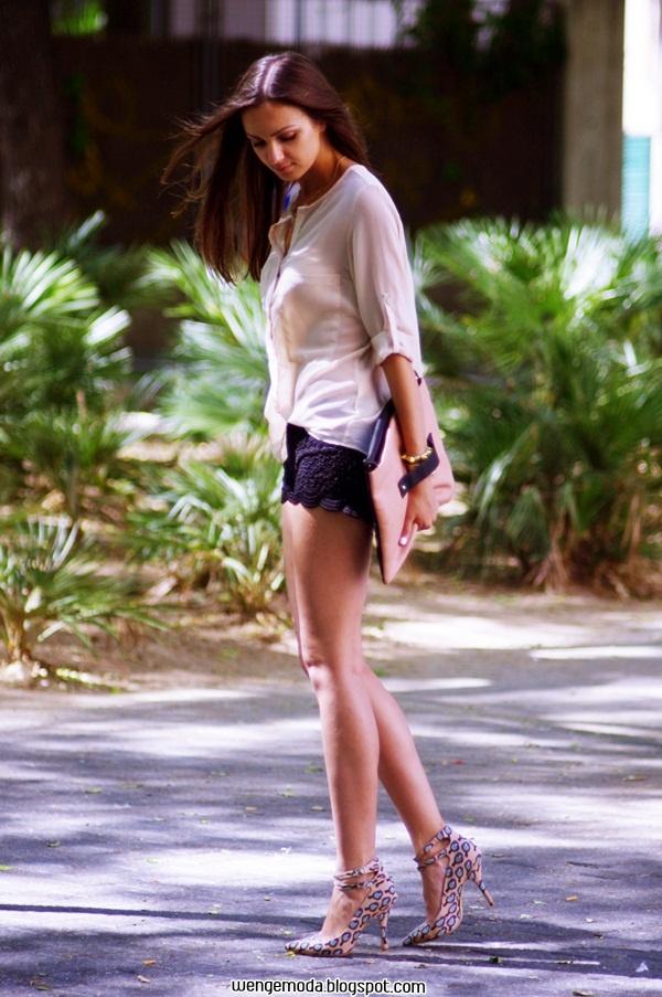 2013 Yaz: Siyah Şort Kombini « Wenge Moda