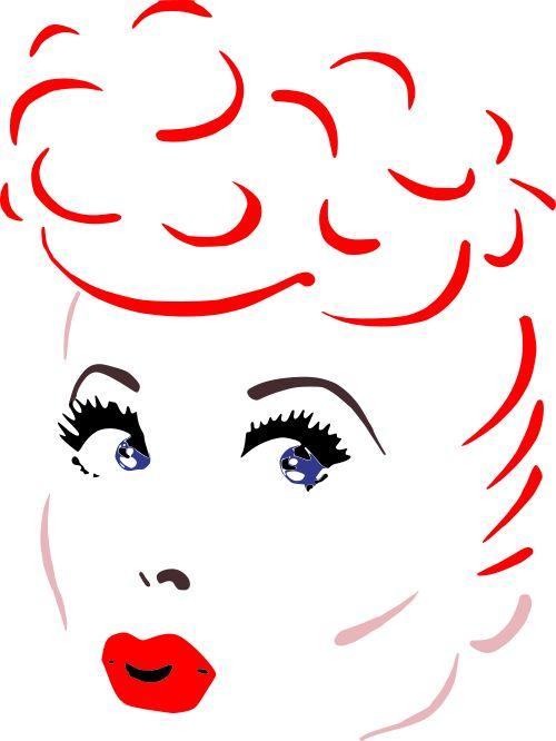 1618+ I Love Lucy Svg Files Zip File
