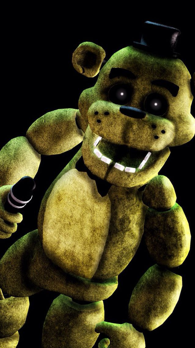 Golden Freddy. He is secret but is said to be the defender of everybody. (Except Springtrap who is their enemy). (Open)