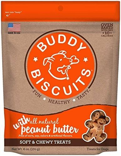 Cloud Star Soft & Chewy Buddy Biscuits - Peanut Butter Flavor - 6oz.