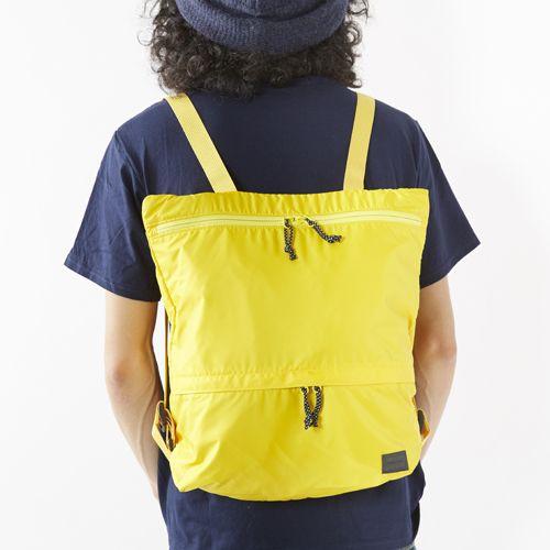 [ポーター]PORTER LOOP 2WAY TOTE RUCK(S) | GO OUT Online |アウトドアファッションの総合通販サイト
