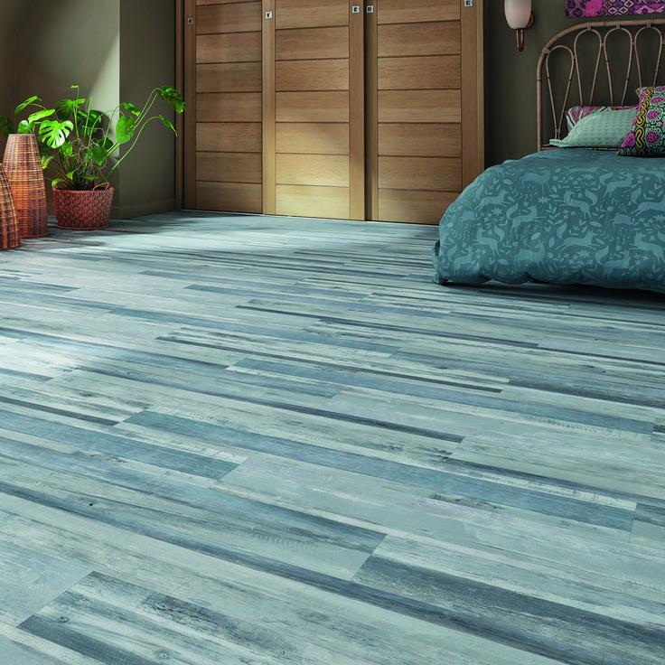 Pavimento pvc flottante clic+ Ocean blue Sp 4.2 mm blu