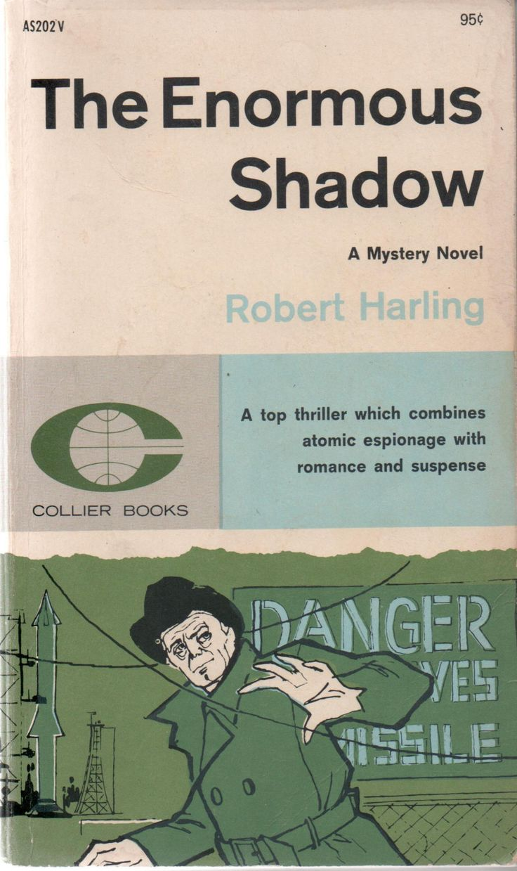 Collier Mystery Paperback, The Enormous Shadow, by Robert Harling, 1st Collier Edition, 1962, good shape by VintageNEJunk on Etsy