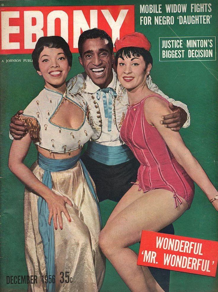 Ebony: Olga James, Sammy Davis Jr. & Chita Rivera ...