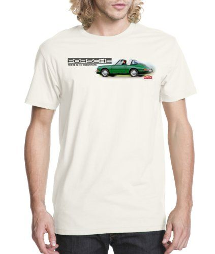 Porsche There Is No Substitute T Shirt Morpca Porsche