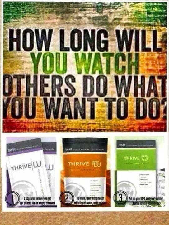 Are you ready to THRIVE? Take a look and learn how at http://tinaness.le-vel.com/  I'd be happy to get you started! @theLVlife #Thrive