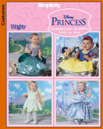 Disney Princess Costumes for Toddlers...  If Mom feels up to sewing...