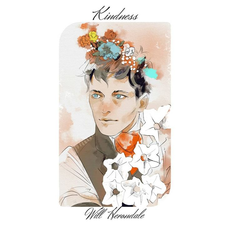 """ART: William Herondale embodying the virtue of kindness by @cassiejp. Character by @cassieclare1."""