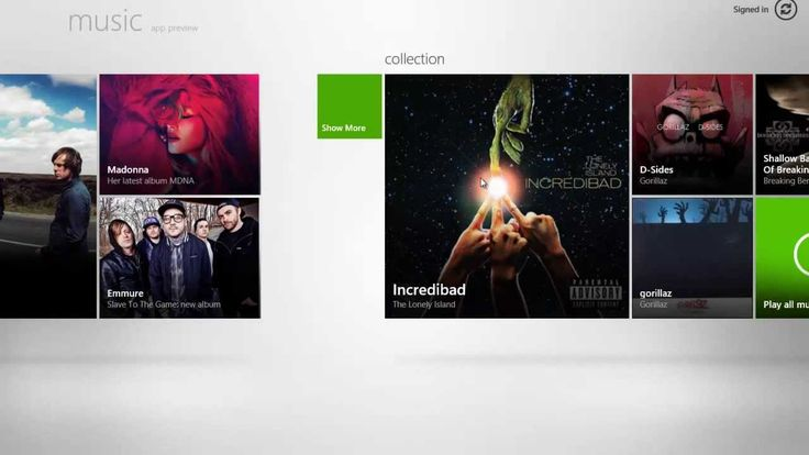 Windows 8 music player great features