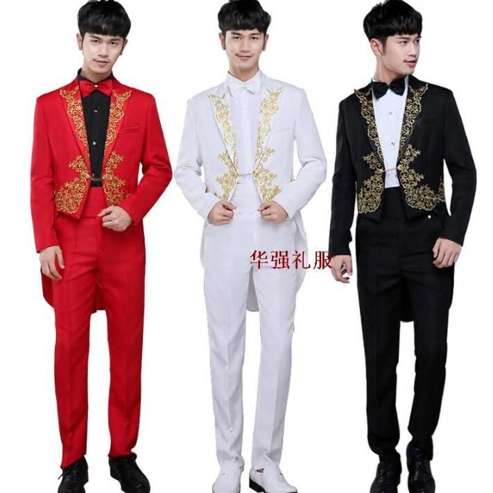 Tuxedo blazer men formal dress latest coat pant designs suit men costume homme terno masculino wedding suits for men's stage